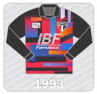 Camisa de Goleiro São Paulo FC - Penalty - IBF - 1993