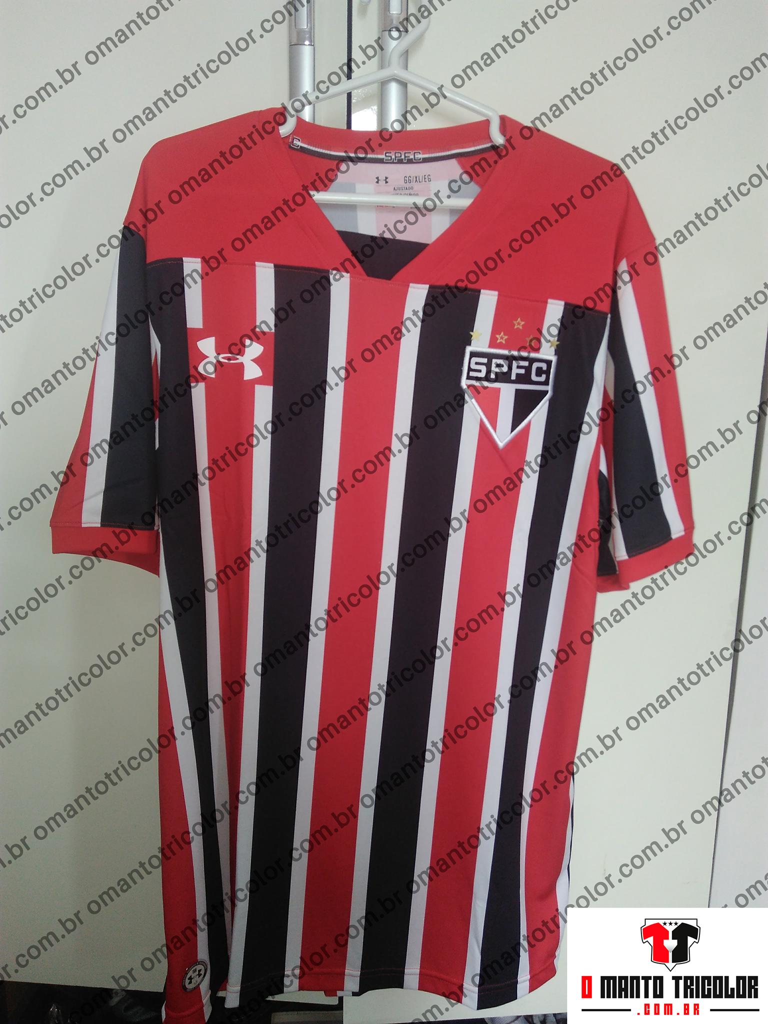 ce93af5d93 Em primeira mão! A camisa listrada 2017 do São Paulo FC. – O Manto ...