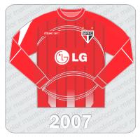 Camisa de Goleiro São Paulo FC - Reebok - 2007 - LG