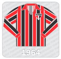 Camisa São Paulo FC 1964
